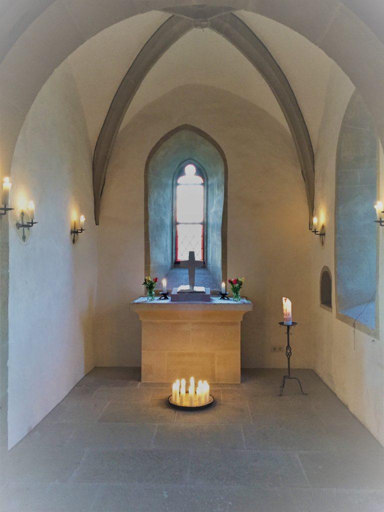 Kirchhofkapelle (Nikolauskapelle) in Westheim